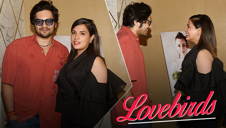 Lovebirds Richa Chadha and Ali Fazal watch 'Love Sonia' together