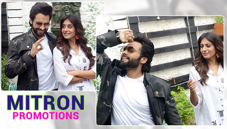 In pics: 'Mitron' stars Jackky Bhagnani and Kritika Kamra are on a promotional spree
