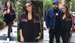#NoFilterNeha: Neha Dhupia records for a new episode with Badshah
