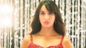 nora fatehi singing debut version dilbar