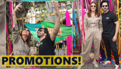 Varun Dhawan and Anushka Sharma paint the city with 'Sui Dhaaga's colors!