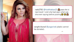 Rakhi Sawant gets royally trolled after declaring a donation of her assets