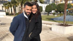 Sonam Kapoor literally looks like a princess holding hubby Anand's hand, view pic