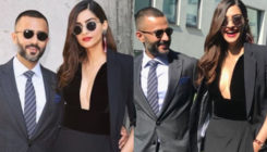Lovebirds Sonam Kapoor and Anand Ahuja twinning in at the Milan Fashion Week!