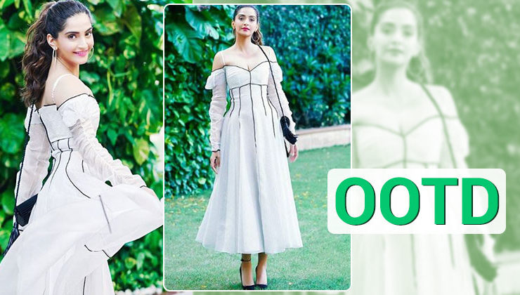 OOTD: To get the angelic avatar, go white like Sonam Kapoor