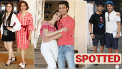 In pics: Sushant, Sanya Malhotra, Aayush Sharma and others spotted in and around the city