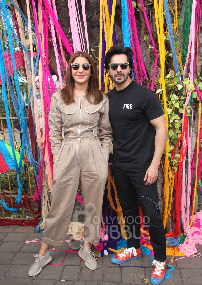 Varun Dhawan and Anushka Sharma