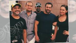 Pics: Salman Khan, Sonakshi Sinha have a 'Dabangg' reunion with the team!