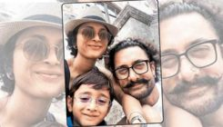 Aamir Khan is spending a lazy Sunday with Kiran Rao and Azad! View pic