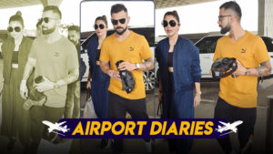 In pics: Virat Kohli and Anushka Sharma spotted at airport walking hand-in-hand