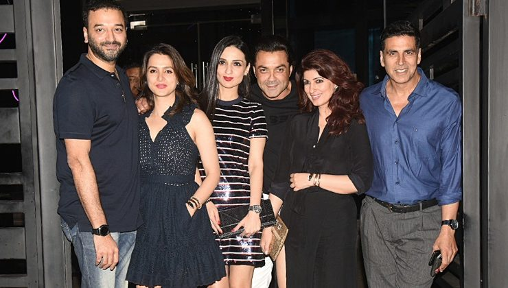In pics: Khiladi Akshay Kumar rings in his birthday with wife Twinkle and Bobby Deol
