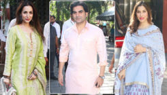 In Pics: Arbaaz Khan's ex-wife Malaika and present GF Giorgia  spotted under same roof