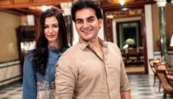 In Pics: Arbaaz and Giorgia celebrate Ganesh Chaturthi at Arpita's home