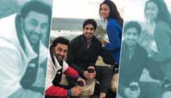 Alia Bhatt has no worries with Ranbir Kapoor and Ayan Mukerji by her side!