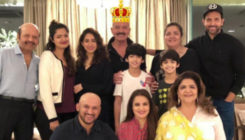 Pics: Hrithik and family celebrate Rakesh Roshan's birthday with zeal!