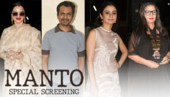 'Manto' screening: Rekha and others watch the Nawazuddin Siddiqui starrer