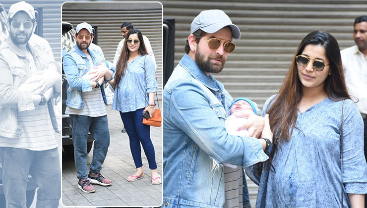 In Pics: Neil Nitin Mukesh and wife Rukmini share the first look of their new born daughter Nurvi