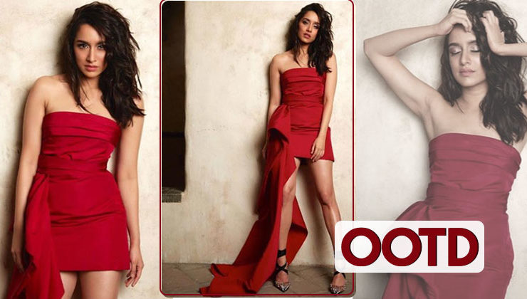 OOTD: Shraddha Kapoor's romantic red dress is perfect for club outing