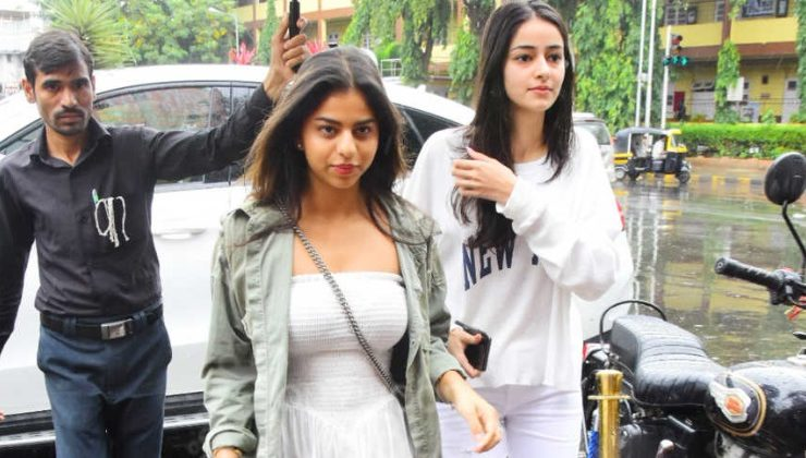 In Pics: BFF Suhana Khan and Ananya Panday step out in style