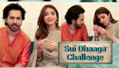Move over Kiki challenge, Varun and Anushka are here with 'Sui Dhaaga' challenge