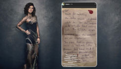 When Taapsee Pannu received a heartwarming note from an anonymous fan
