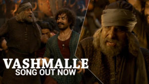 'Vashmalle' song: Watch Aamir Khan and Amitabh Bachchan shake a leg together for the first time