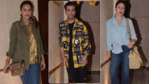 Kareena Kapoor Khan, Karan Johar and Amrita Arora chill with Manish Malhotra
