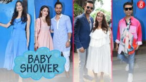 Watch: Bollywood Celebrities grace Neha Dhupia's baby shower