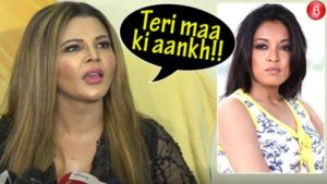 Watch: Rakhi Sawant takes a dig at Tanushree Dutta and how!