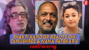 Here's how Shakti Kapoor reacted to Tanushree Dutta and Nana Patekar's controversy