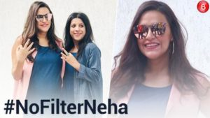 Neha Dhupia's pregnancy glow is unmissable as she posed with Zoya Akhtar at #NoFilterNeha 3