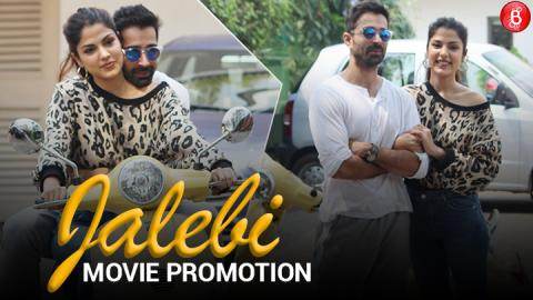 Watch: Rhea Chakraborty and Varun Mitra promote their upcoming film 'Jalebi'