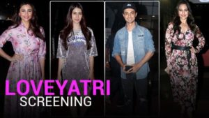 Sonakshi Sinha, Arpita Khan attend Aayush Sharma and Warina Hussain's 'LoveYatri' screening