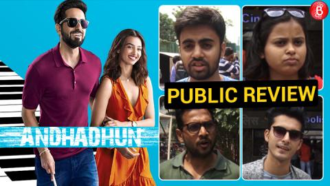 Watch: Here's the Public Review of Ayushmann Khurrana and Radhika Apte's film 'AndhaDhun'