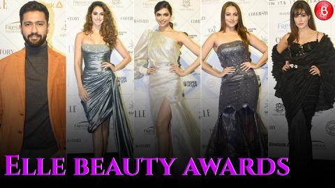Deepika Padukone, Vicky Kaushal and others at Elle Beauty Awards 2018