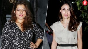 Soha Ali Khan at Shikha Talsania's Birthday party
