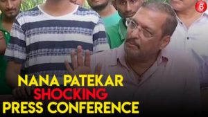 Nana Patekar's press conference after Tanushree Dutta's allegation