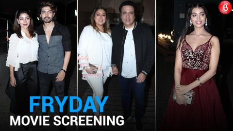 Bollywood celebs attend the screening of 'FryDay'