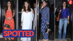Ekta Kapoor, Konkona Sen Sharma, Bhumi Pendekar and others spotted at Bastian
