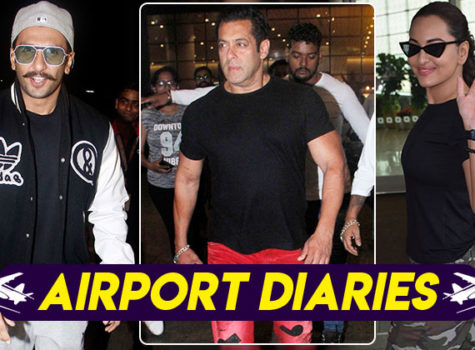 Images: Ranveer Singh, Salman Khan and others get papped at the airport