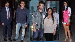 Aayush Sharma's Birthday Party: Salman Khan, Anil Kapoor, Shilpa and others mark their attendance
