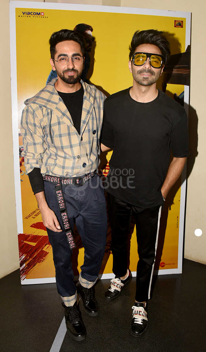 Ayushmann and Aparshakti Khurana