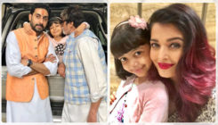 These pics of Aaradhya Bachchan with Big B and Abhishek are adorable