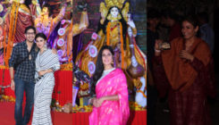 Durga Puja 2018: Mouni Roy, Katrina Kaif and Raveena get into the festive mode