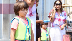 In Pictures: Birthday girl Gauri Khan spotted with son AbRam Khan
