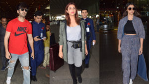 In Pics: Kartik Aaryan, Parineeti and Daisy Shah's casual airport style is on point