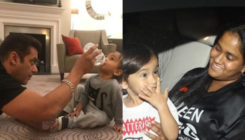 Arpita Khan shares a candid moment of son Ahil and brother Salman Khan, view pic