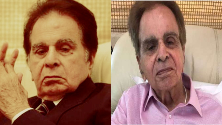Dilip Kumar hospitalised again; being treated for recurrent pneumonia | Bollywood Bubble