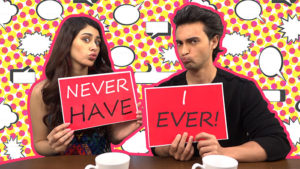 WATCH: Aayush Sharma and Warina Hussain get candid in 'Never Have I Ever' game
