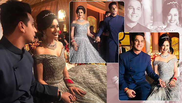 Prince and Yuvika's wedding reception was no less than a fairy tale affair
